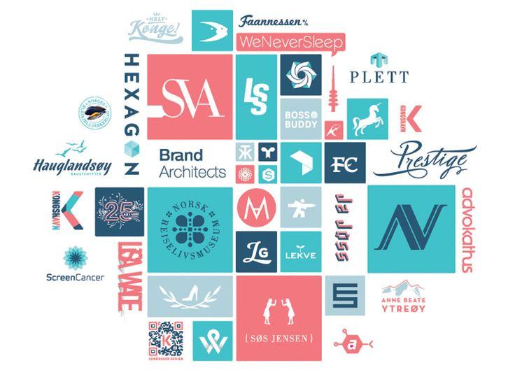 Logos made by Kongshavn Design