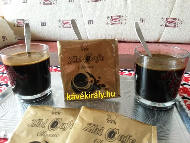 Török DXN kávé: Zhi Coffee Classic with 100% pure Lingzhi mushroom