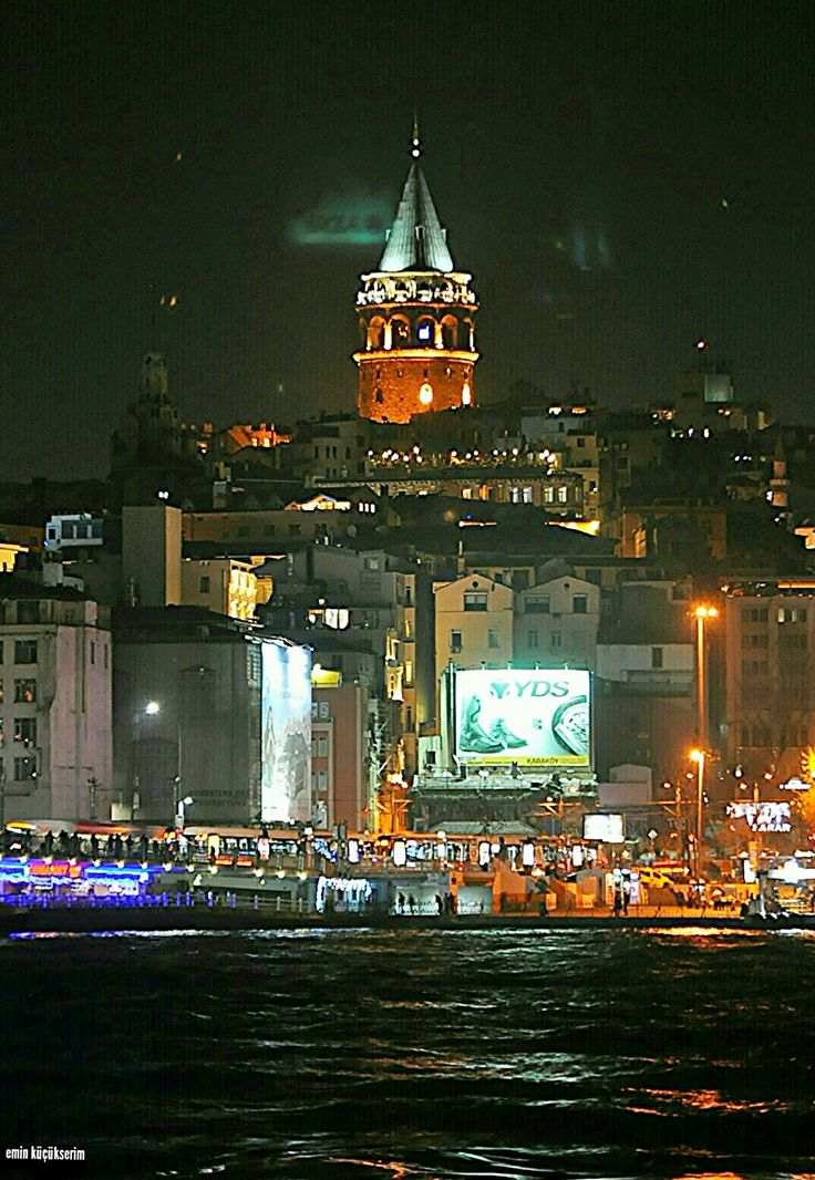 Galata kulesi. İstanbul. Turkey. Fotograf : Emin Küçükserim