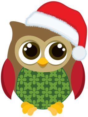 Christmas Owls - Minus