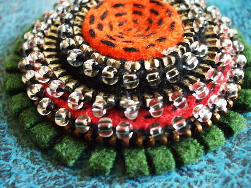 A new brooch... Fall colors!! | Flickr - Photo Sharing!