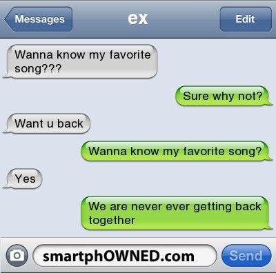 Burn!! via song titles!