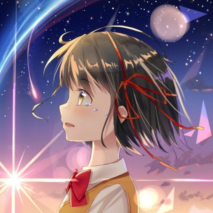 Secuil Gambar Anime Couple Kimi No Nawa Gambar Anime Gadis Animasi Kartun Anime wallpaper pp couple