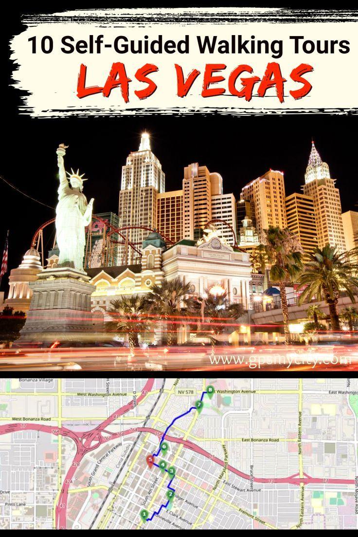 Walking Tours In Las Vegas Nevada Las Vegas Tours Nevada Travel Las Vegas Hotels Map