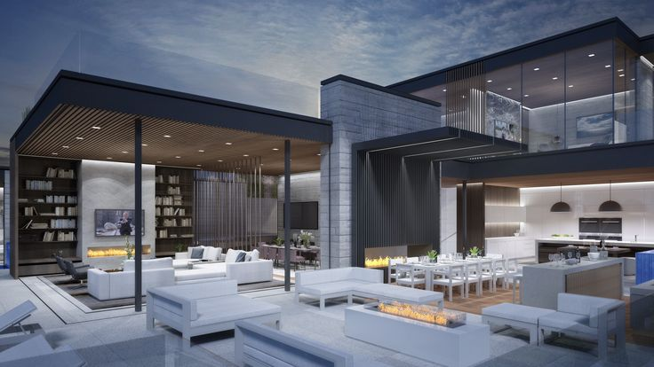 There's a new trend emerging in Los Angeles that raises the stakes even higher: conceptual mega mansions in the city's chicest addresses that haven't even broken ground yet.