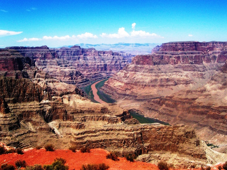 Guano View Point at the Grand Canyon West Rim.