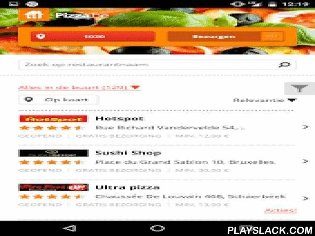 Pizza.be  Android App - playslack.com ,  Order food online with your Android smartphone or tablet using the Pizza.be app. Super easy!Want to order a tasty pizza, salad, burger or kebab? Our app lets you order the best dishes from 1300+ restaurants accross Belgium, including Pizza Hut, Domino's Pizza, Pizza Talia, King Pizza, Pitza Service and many more. Craving Chinese, Indian, Italian or Greek food? You'll be spoilt for choice! Restaurants usually take 30-45 minutes to deliver.Benefits of…
