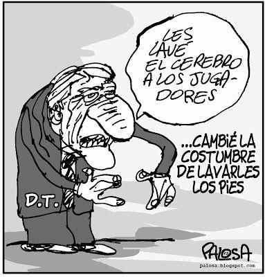 PALOSA - Caricatura Editorial: FÚTBOL Publicado 19 de octubre de 2013