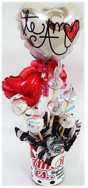Contamos con diferentes #Arreglitos de Globos y chocolates para  toda #Ocasión!! Bendecido Inicio de Semana!!