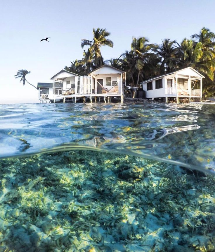 Belize Beaches: Tobacco Caye Paradise Cabins, Belize