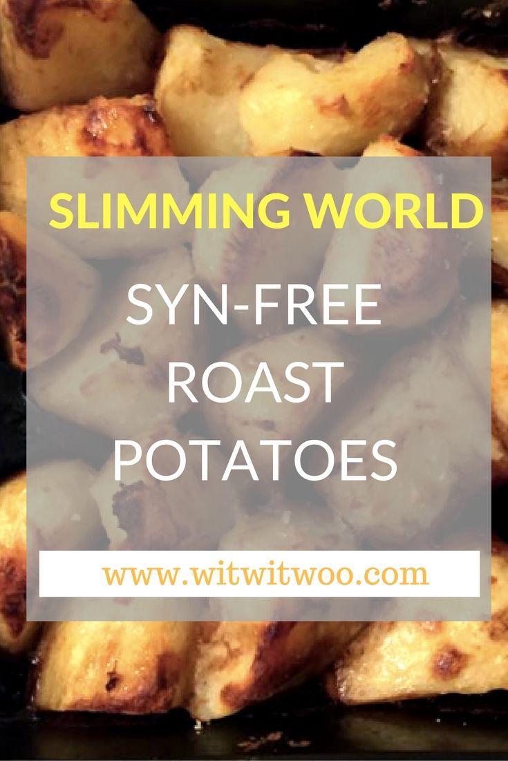 slimming world roast potatoes
