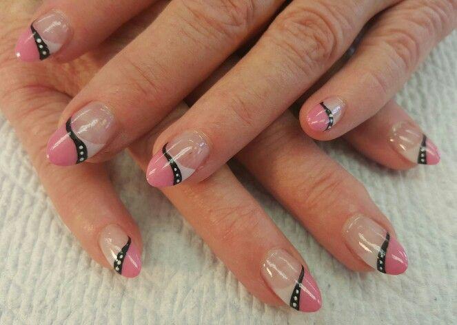 Fun nails! #nails #lovemyjob