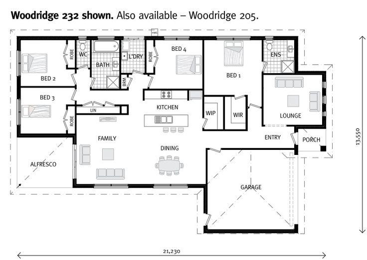 17 best future floor plan options images on pinterest floor woodridge express our designs gj gardner homes ballarat malvernweather Images