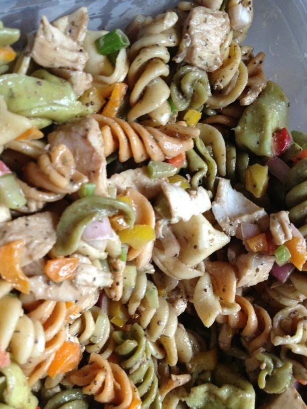 Pasta salads on Pinterest | Salads, Eggplant pasta and Veggie pasta ...