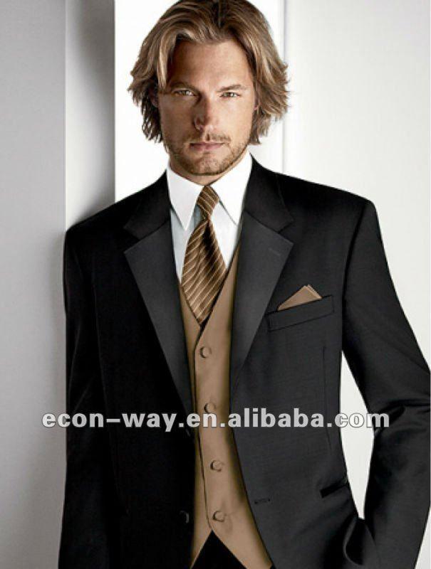 Mode black marié. costume de mariage pour les hommes-Costumes et smoking-Id du produit:625720396-french.alibaba.com