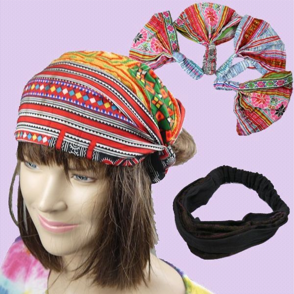 Manmaru Asia Online shop | Rakuten Global Market: Thailand, minority race Hmong embroidery headband hat
