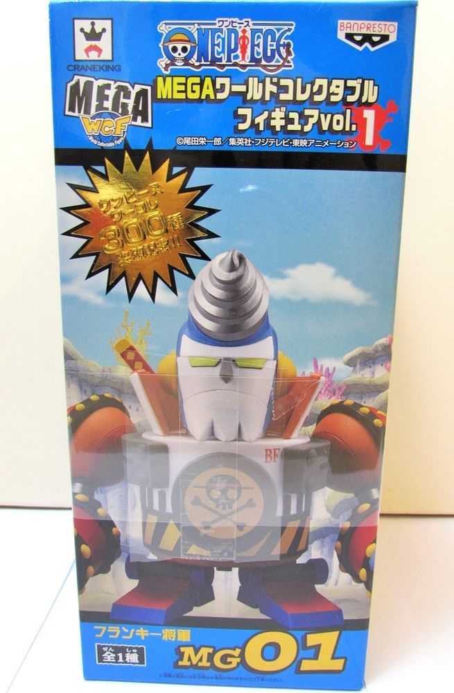 One Piece Franky General MG01 Mega World Collectable Figure vol 1 Banpresto