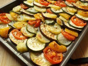 VERDURE AL FORNO   ricetta contorno  Zenzero e Limone