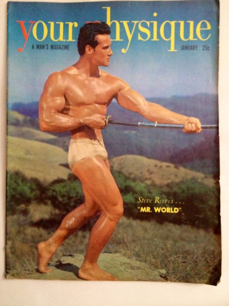 Vintage physique photo
