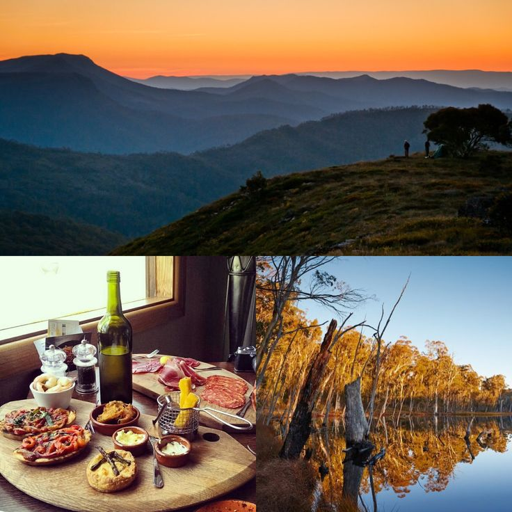 No. 2 on Australia's Must-Do Destinations goes to = King Valley!  Think about it, quiet time, a glass of wine, enjoying the foothills of the Victorian Alps & a cosy hotel!