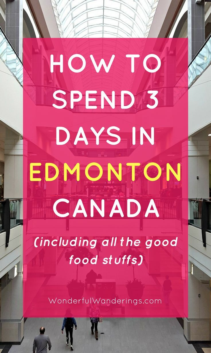Check this list of things to do in Edmonton, Alberta, Canada in winter besides going to an Oilers game