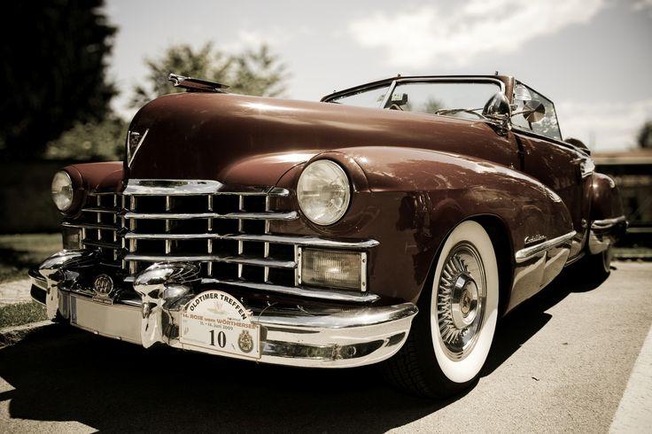 Ben jij liefhebber van oldtimers, zoals deze oude Cadillac? Like of repin!