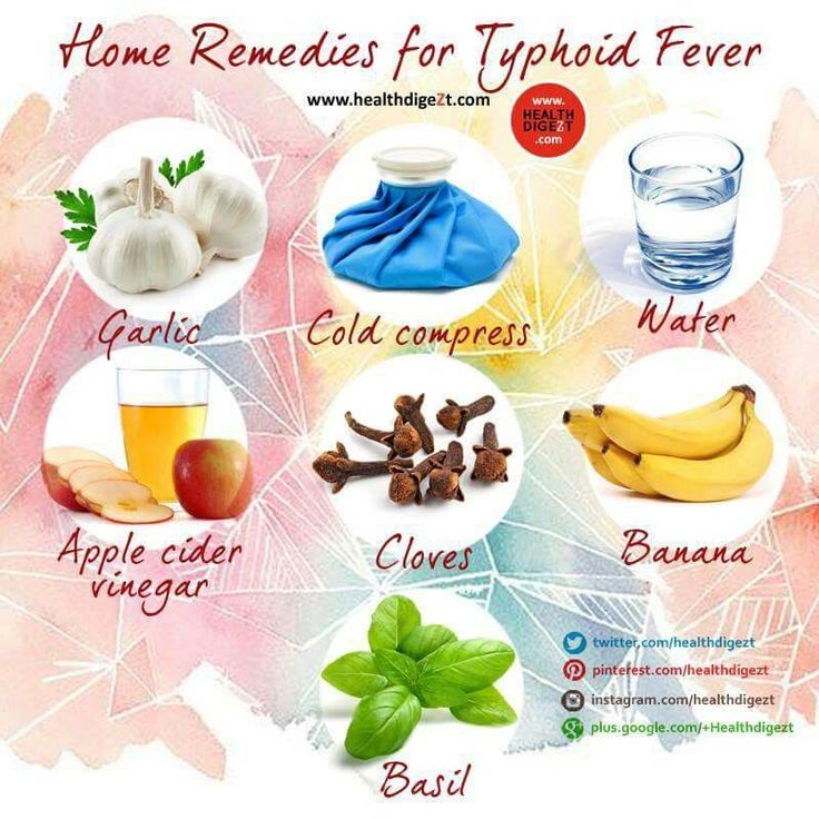 Medication for typhoid fever