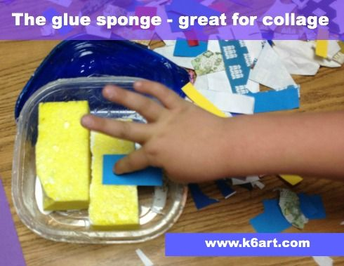the glue sponge