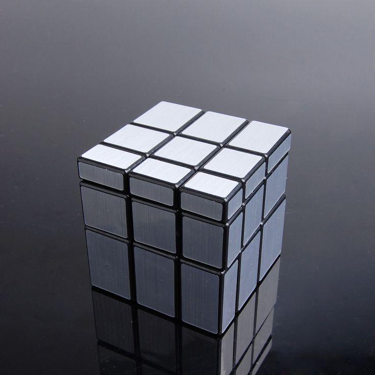 Huiyuan Silver Mirror 3X3 Speed Cube  http://www.eachbyte.com/huiyuan-hy-silver-mirror-3x3-speed-cube-black.html