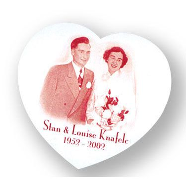 Imprintable heart shaped magnet!  Great idea for weddings or advertising - print your logo/photo/message!!  #magnet  #valentines  #wedding  #love  #photo  #promo