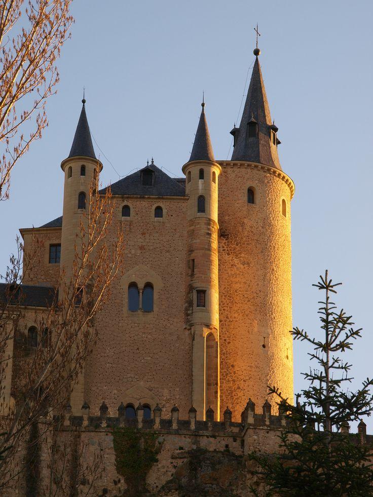 Segovia Castle, Spain  #Mediterranean