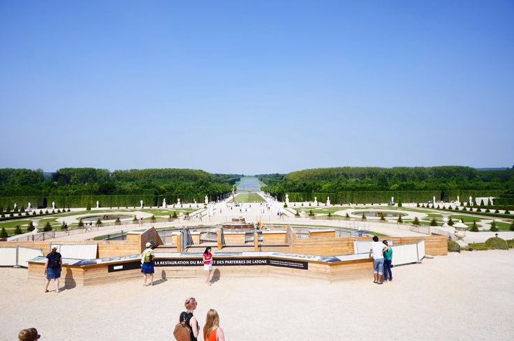"One of the many ""Wow"" moments at Chateau de Versailles, Versailles, France."
