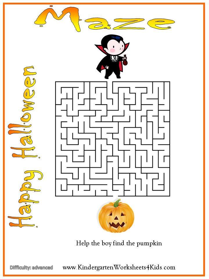 Printable Worksheets halloween adjectives worksheets : 24 best Halloween school related activities images on Pinterest ...