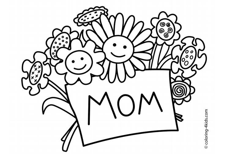 Free Mother S Day Coloring Pages For The Kids To Color Mothers Day Coloring Pages Birthday Coloring Pages Happy Birthday Coloring Pages