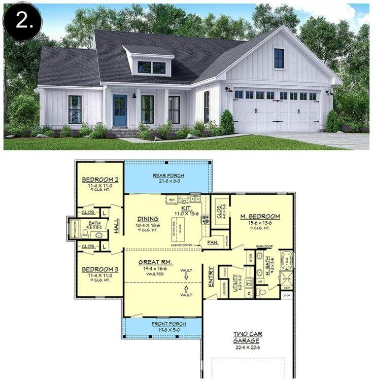 40+ Modern farmhouse plans 2000 sq ft info