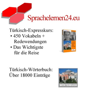 Türkisch lernen Expresskurs Sprachkurs+ Wörterbuch für Ihren Urlaub  Artikelzustand:Neu  Stückzahl:  120 verfügbar  Preis:EUR 41,50  (inkl. MwSt.)