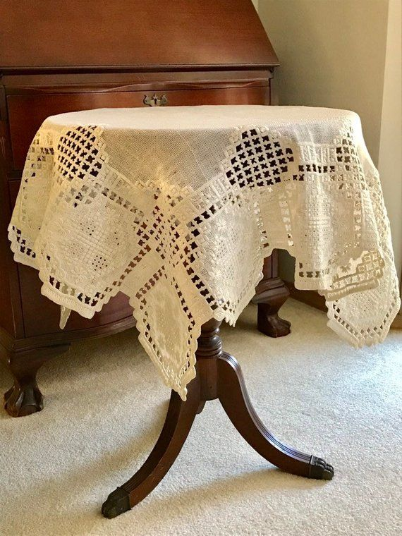 vintage hardanger embroidery tablecloth nordic needlework table rh pinterest com