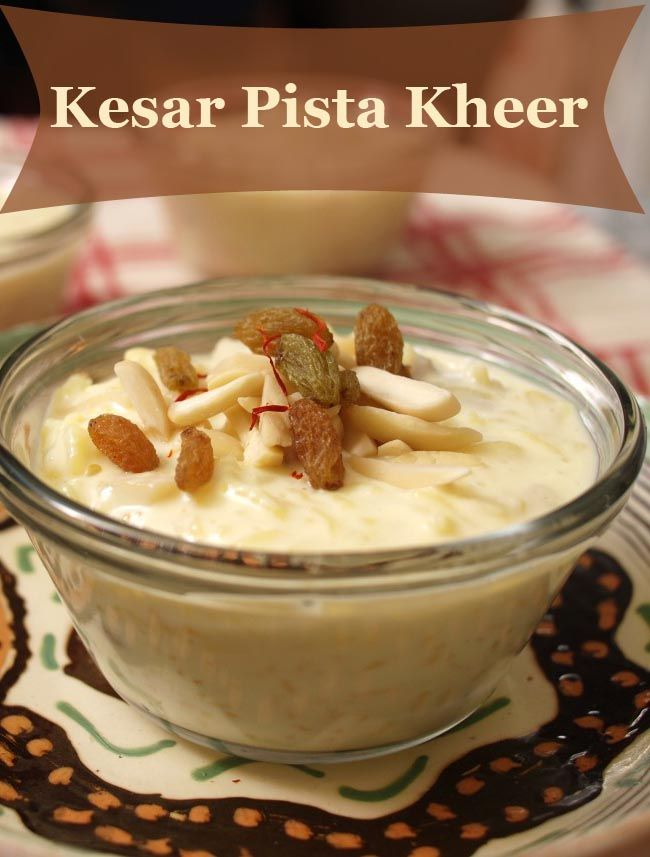 You can easily Make #Delicious and Cremy #kesarpistakheer.  Easy #recipe is…