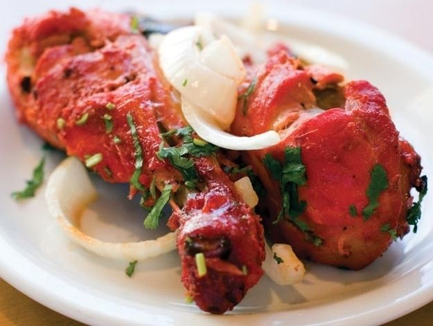 Tandoori chicken / 26 Traditional Indian Foods That Will Change Your Life Forever (via BuzzFeed)