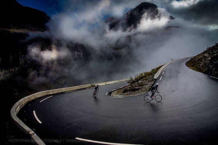 Cycling: Cycling Inspiration, Bike, Cycling Roads, Bicycles Photogenius, Cloud, Cycling Photos, Mountain Roads, Roads Trips, Beautiful Photography