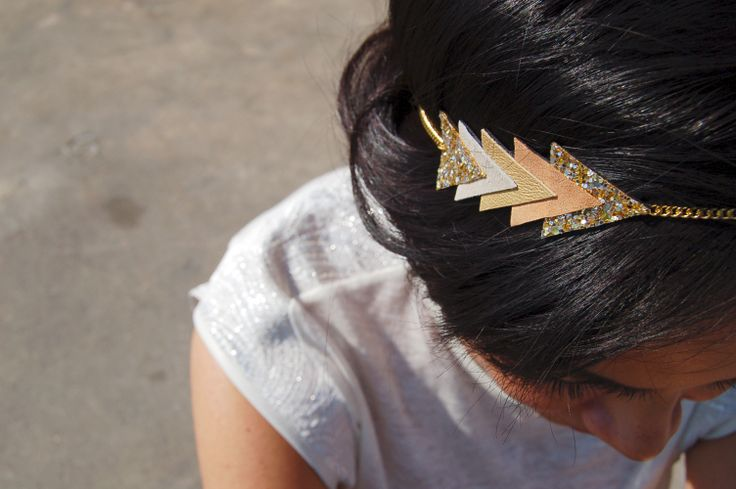 "Chouette Fille - ""Arrow"" headband"
