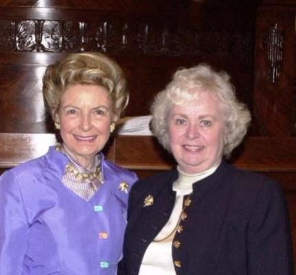 Phyllis Schlafly and Lois Linton.  Lois Linton's Eagle Forum story . . . I would never want to miss Eagle Council if I was still breathing. After my family, the friendships I made in Eagle Forum that have endured for over 40 years are the most meaningful part of my life.
