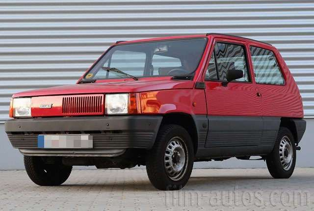 Oldtimer Fiat Panda 45 zum Mieten