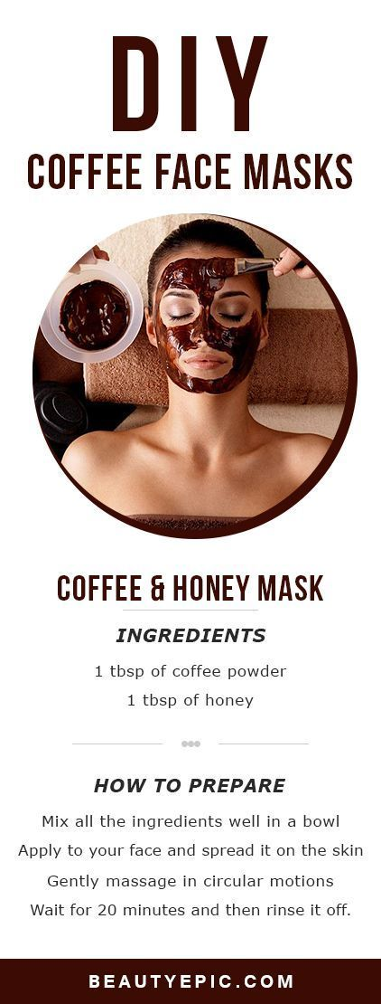 Coffee has many anti-oxidants that function against skin damage. It plays a great role in reducing the puffiness under the eyes.