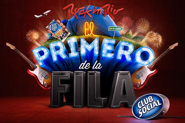 Rock in Rio + Club Social