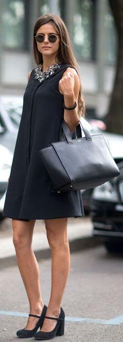 Milan Fashion Week: El Mejor Street Style by Te Cuento Mis Trucos. Zara statement necklace