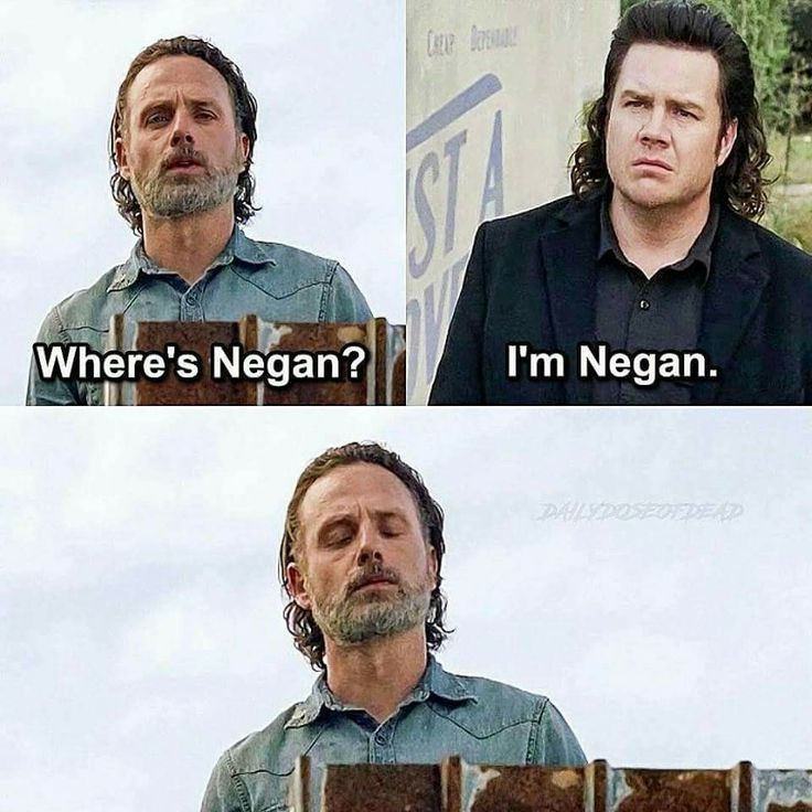 Rick and Eugene - TWD
