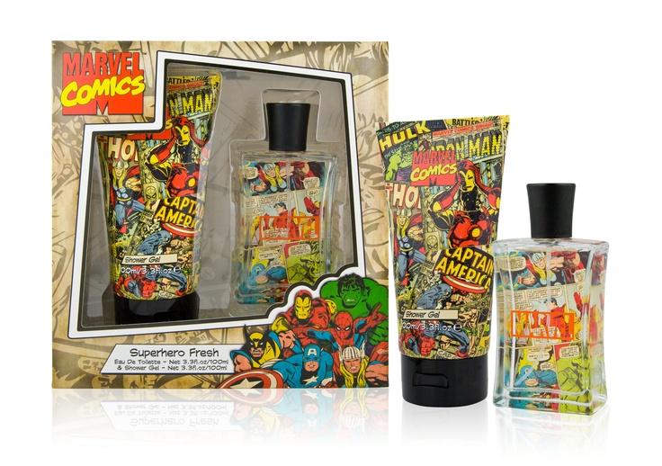 Marvel Comics Gift Set - The Perfume Shop