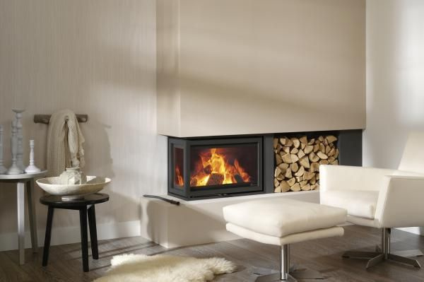 Something a bit bigger than this. Wood-burning stoves (from RAIS) apparently fine to use in London.
