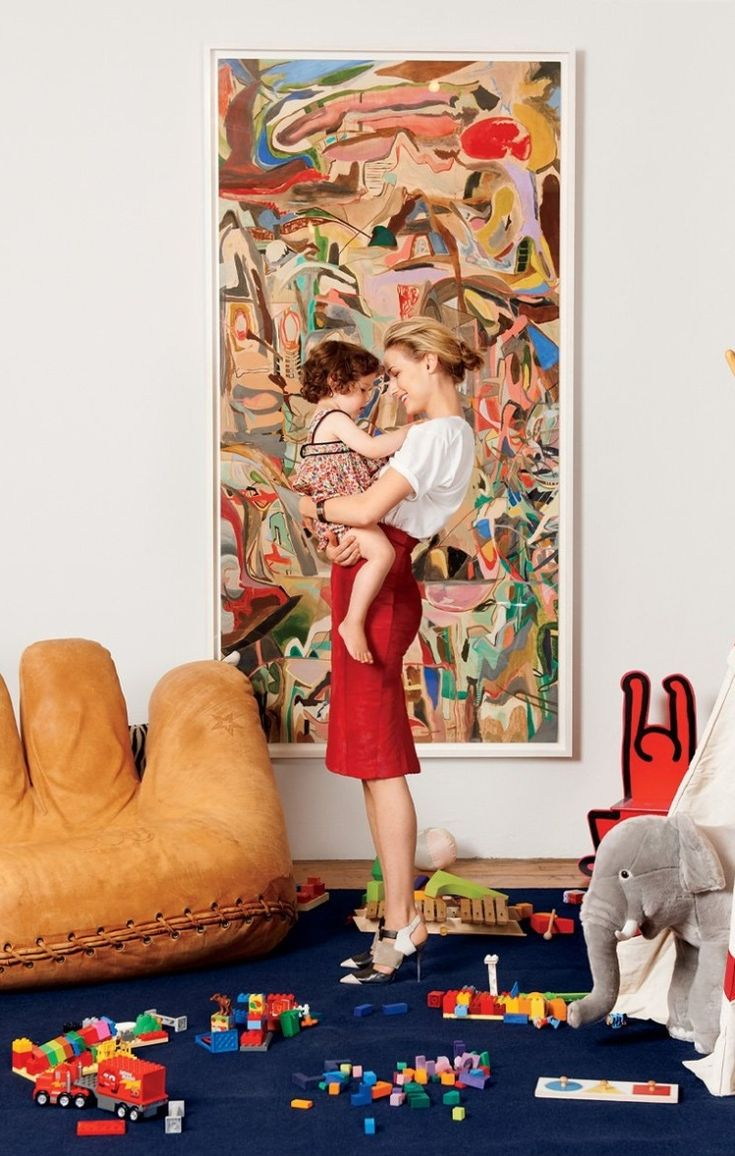 Inside Lee Lee Sobieski's home. Photographed by Jason Schmidt, Vogue, October 2012.